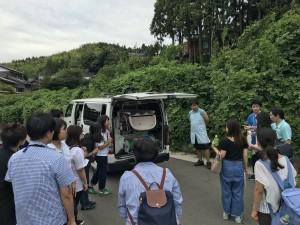大沢町の暮らしを支える民医連以外の医療・介護も見学しました (市立輪島病院・ふげしデイサービスセンター)
