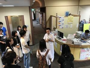 1日目、生方医師の案内で 輪島診療所を見学