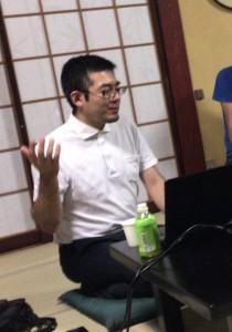 小浦友行先生の講演